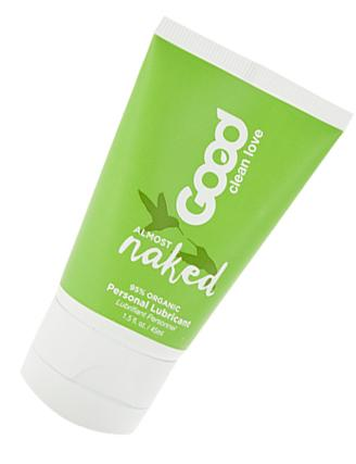 Organic, water-based personal lubricant made with aloe vera for sensitive skin.